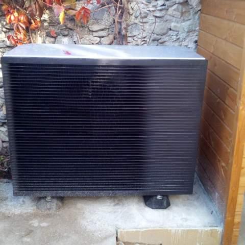 Installation d'une pompe  à chaleur air/eau à Saint-Bauzille-de-Putois