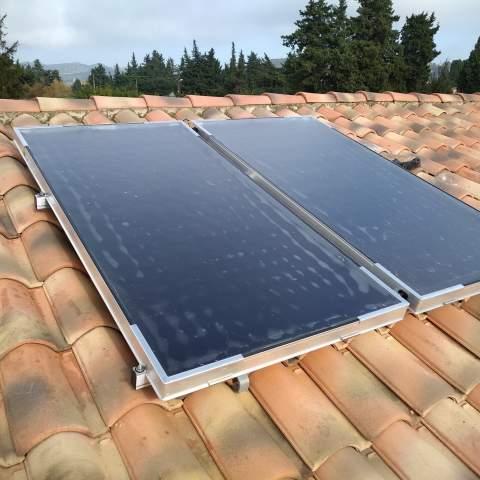 Installation d'un chauffe-eau solaire à Beaulieu