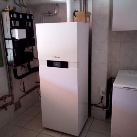 Installation d'une chaudière gaz à condensation à Sommières