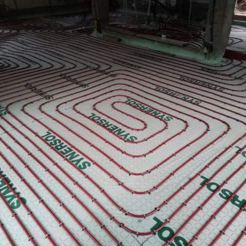 Installation d'un plancher chauffant à Montpellier