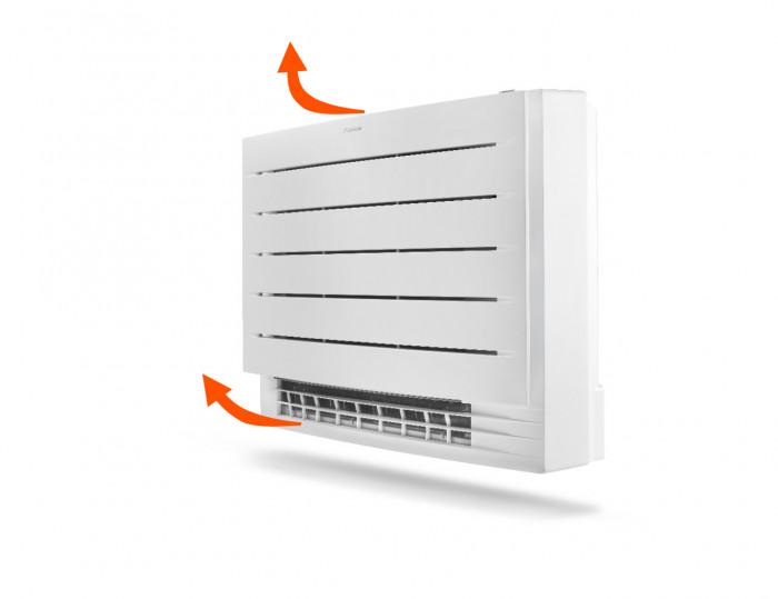Anéo, clim réversible Daikin, console Perfera FVXM-A, pompe à chaleur air air Daikin,  air double flux, Gard Hérault 30 34