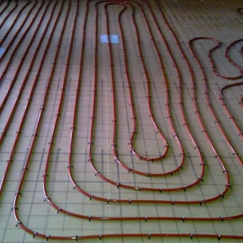 Installation d'un plancher chauffant à Pérols